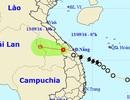Áp thấp nhiệt đới đã qua khu vực biên giới Việt - Lào