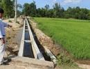 Áp dụng kỹ thuật tưới tiết kiệm ở vùng đất gió Lào