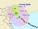 Chiều nay bão đổ bộ vào Quảng Ninh, Hà Nội có thể mưa rào