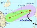 Bão số 9 áp sát Hoàng Sa, không khí lạnh tăng cường ở Bắc Bộ