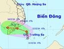 Áp thấp nhiệt đới đang hướng thẳng vào khu vực TPHCM