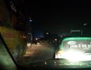 Đơn vị thi công tắc trách gây tai nạn, dân bao vây quốc lộ