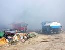 Đà Nẵng: Chật vật khống chế đám cháy bùng phát trên bãi rác thành phố