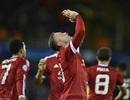 """Rooney """"nổ"""" tưng bừng sau màn trình diễn rực sáng"""