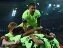 Sergio Aguero giúp Man City chiến thắng đầy nghẹt thở