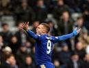 Jaime Vardy lập kỳ tích, Leicester City dẫn đầu Premier League