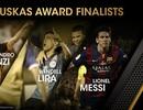 Đề cử giải Bàn thắng đẹp nhất năm 2015: Vinh danh Messi?