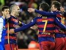 """Messi rực sáng, Barcelona """"vùi dập"""" 9 người Espanyol"""