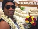 Ronaldinho suýt gặp nạn ở Ấn Độ