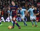 Messi gây sốt với màn dàn xếp phạt đền kiểu Johan Cruyff