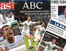 Báo chí thế giới ngả mũ trước sự vĩ đại của C.Ronaldo