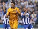 Đặt dấu giày vào 7 bàn, Suarez lập kỷ lục đặc biệt
