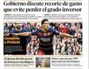 Báo chí thế giới ngả mũ trước sự phi thường của Suarez