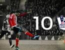 10 bàn thắng đẹp nhất Premier League mùa giải này