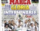 Báo chí thế giới ca ngợi Real Madrid sau chức vô địch Champions League
