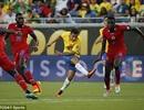 """Coutinho lập hat-trick, Brazil """"hủy diệt"""" Haiti với tỷ số 7-1"""