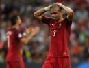 Bồ Đào Nha có nguy cơ mất Pepe ở trận bán kết Euro 2016