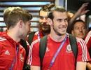Đội tuyển xứ Wales tràn đầy niềm vui trong ngày về nước