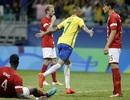 """Neymar im tiếng, U23 Brazil vẫn """"hủy diệt"""" Đan Mạch 4 bàn không gỡ"""