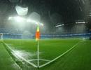 Trận đấu Man City - Gladbach bị hoãn vì mưa lớn