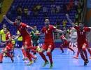 Nhà vô địch Brazil thua sốc trước Iran ở World Cup futsal
