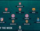 Đội hình tiêu biểu lượt thứ ba vòng bảng Champions League