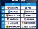 Hôm nay bốc thăm vòng 1/8 Champions League: Nín thở chờ đại chiến