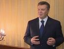 Ông Yanukovych tuyên bố nhờ Nga bảo vệ