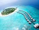 """Khám phá """"tình yêu"""" tại đảo thiên đường sắp biến mất Maldives"""