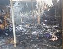 Chợ Tứ Hạ tan hoang sau vụ cháy