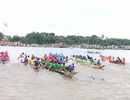 Sôi động lễ hội đua ghe trên sông Hương ngày Quốc khánh
