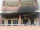 Cháy ký túc xá, đồ đạc sinh viên bị thiêu rụi