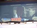 Rộ thông tin ô tô không dán khẩu hiệu lái xe an toàn sẽ bị phạt