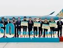 Vietnam Airlines đón hành khách thứ 160 triệu trong 20 năm cất cánh