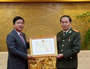 Bộ GTVT tặng kỷ niệm chương cho Đại tướng, Bộ trưởng Công an Trần Đại Quang