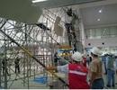 Xác định nguyên nhân sập giàn giáo ở sân bay Tân Sơn Nhất