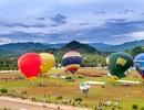 Sơn La: Bay khinh khí cầu ngắm cao nguyên Mộc Châu