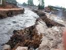 Công trình trăm tỷ hư hỏng, vỡ toác sau trận mưa lớn