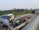 Xe 7 chỗ nát bét trên cao tốc, 3 người Hàn Quốc tử vong