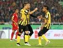 """Hàng thủ đội tuyển Việt Nam """"giúp"""" Malaysia vào chung kết"""