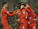 """""""Người hùng"""" Ballotelli giúp Liverpool hạ gục Tottenham"""