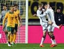 Đức chật vật kiếm trận hòa trước Úc