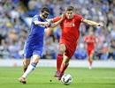 Chelsea chia điểm với Liverpool