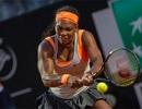 Serena Williams, Sharapova cùng tiến ở Rome