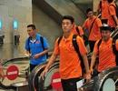 U23 Việt Nam đổ bộ xuống sân bay Changi, sẵn sàng cho SEA Games 28