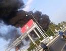 Cháy lớn trong khu công nghiệp Trà Nóc