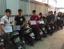 Ngăn chặn hơn 30 thanh niên tụ tập đua xe