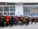 Diễn tập chống khủng bố, biểu tình