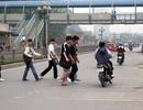 Từ tháng 2/2016, Hà Nội xử phạt người đi bộ vi phạm luật giao thông