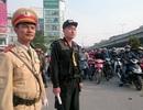 Hà Nội tăng cường 300 cảnh sát cơ động điều tiết giao thông